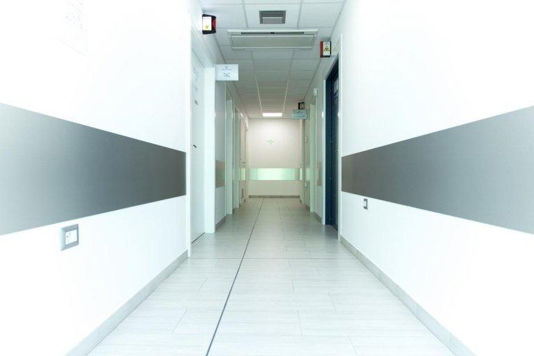 corridoio studio radiologico