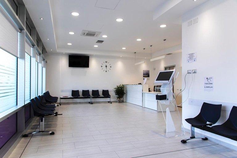 sala d'aspetto studio radiologico