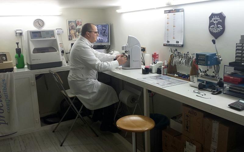 laboratorio ottico bari