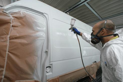 verniciatura furgoni