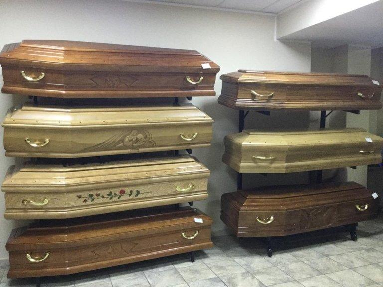bare per funerali