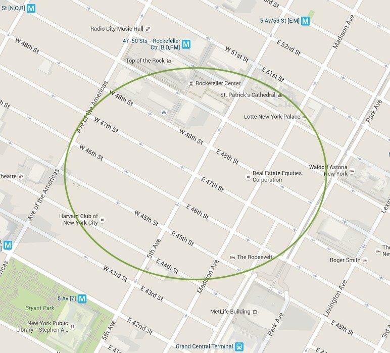NYC virtual office in midtown Manhattan