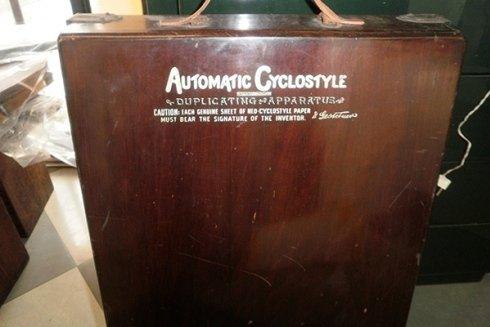 Cyclostile automatico