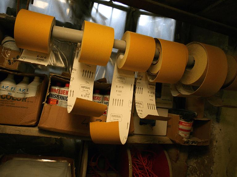 Carta abrasiva in rotoli