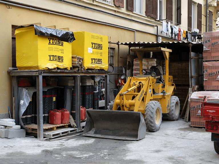 Blocchi in fibrocemento per edilizia