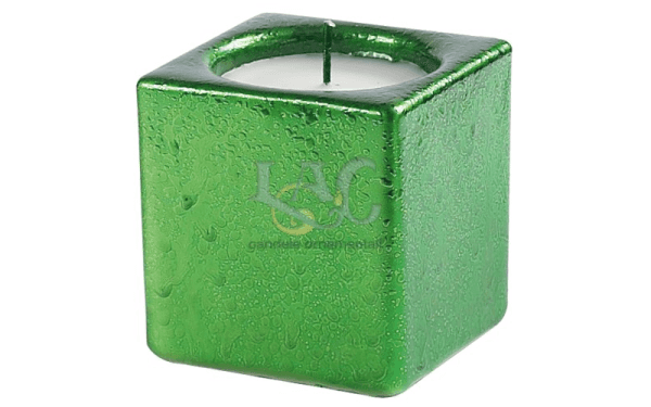candela verde vasetto