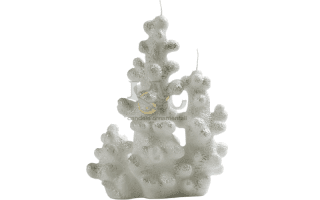 white coral candle