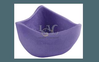 purple art nouveau candle