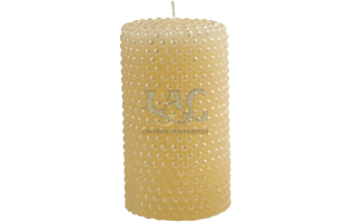ivory pearl candle