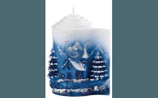 parchment candle
