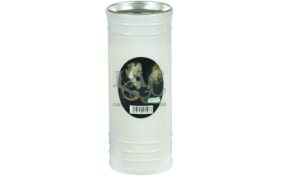 white st. pio candle