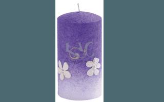 candela rustica viola