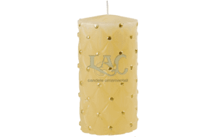 ivory christmas candle