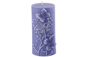 violet relief candle