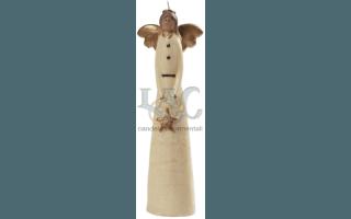 stylised angel candle
