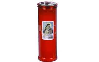 madonna child candle