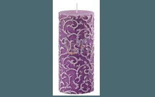 candela rilievo viola