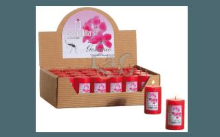 geranium candles