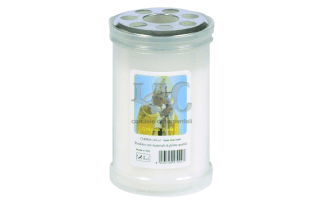 white pope candle