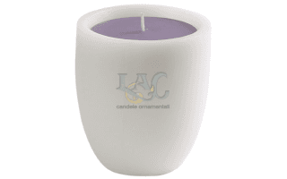 conical pot candle