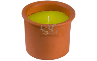 outdoor citronella candle