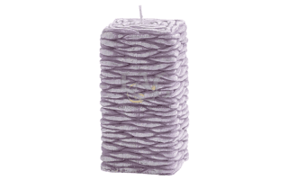 lilac square candle