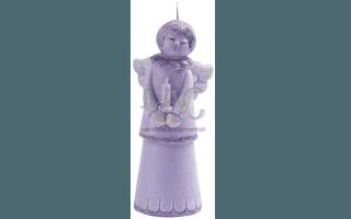 violet angel candle