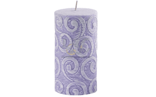 sculpted candle