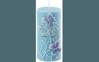 candela farfalle turchese
