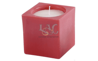 square pot candle