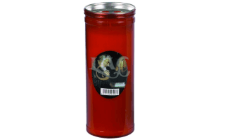 red st. pio candle