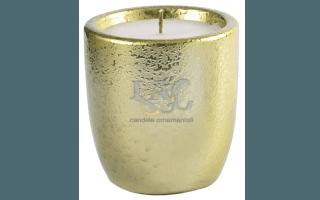 gold pot candle
