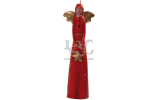 red angel candle