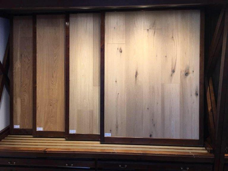 parquet showroom