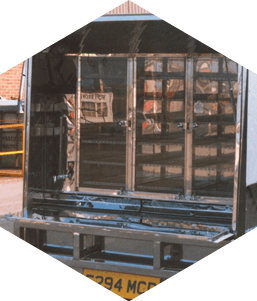 Manufactured catering van