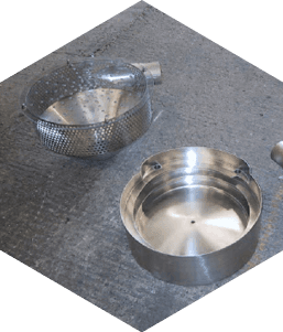Vibrator bowl & cyclones