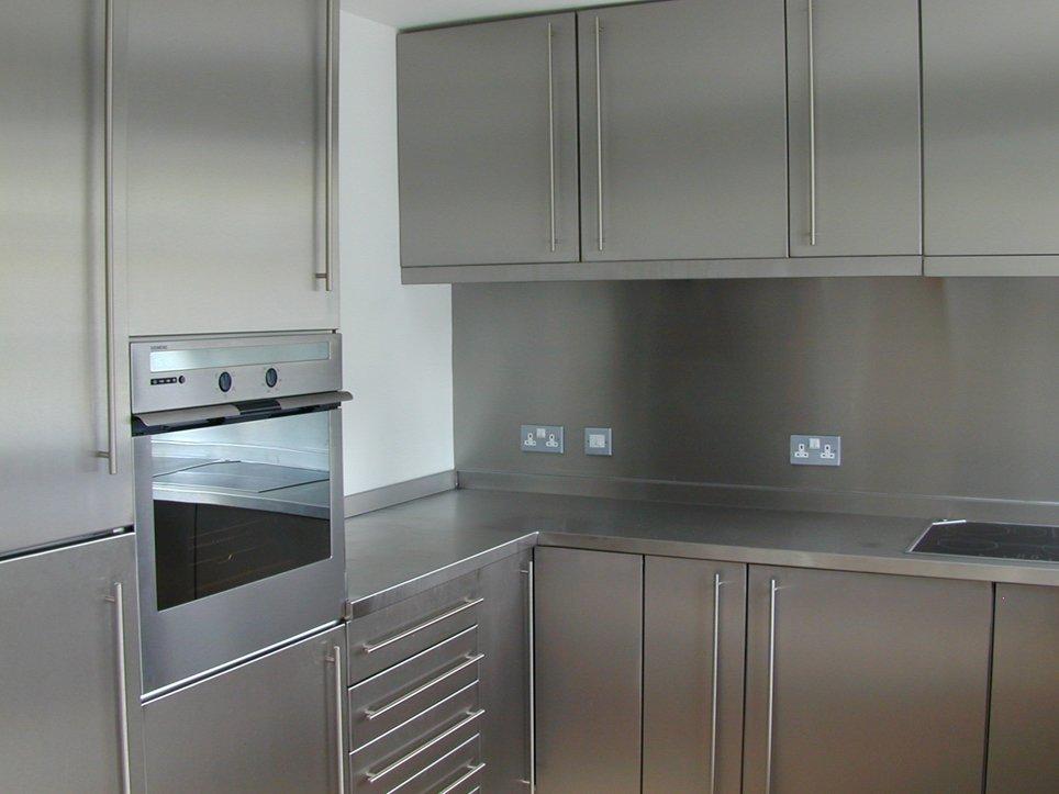 Kitchen steel cabinet