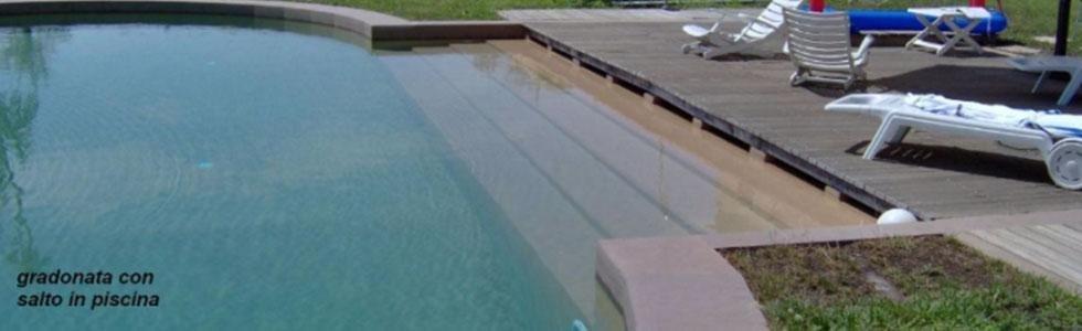 piscina gradonata