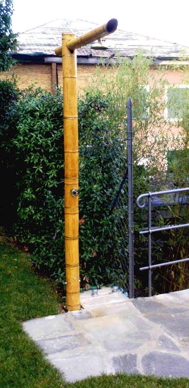 doccia di bambù
