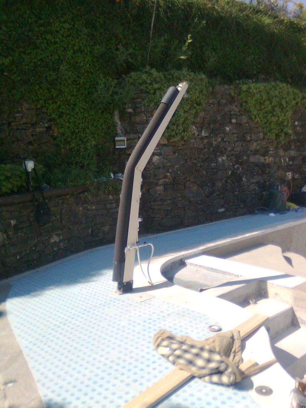 doccia solare di gomma