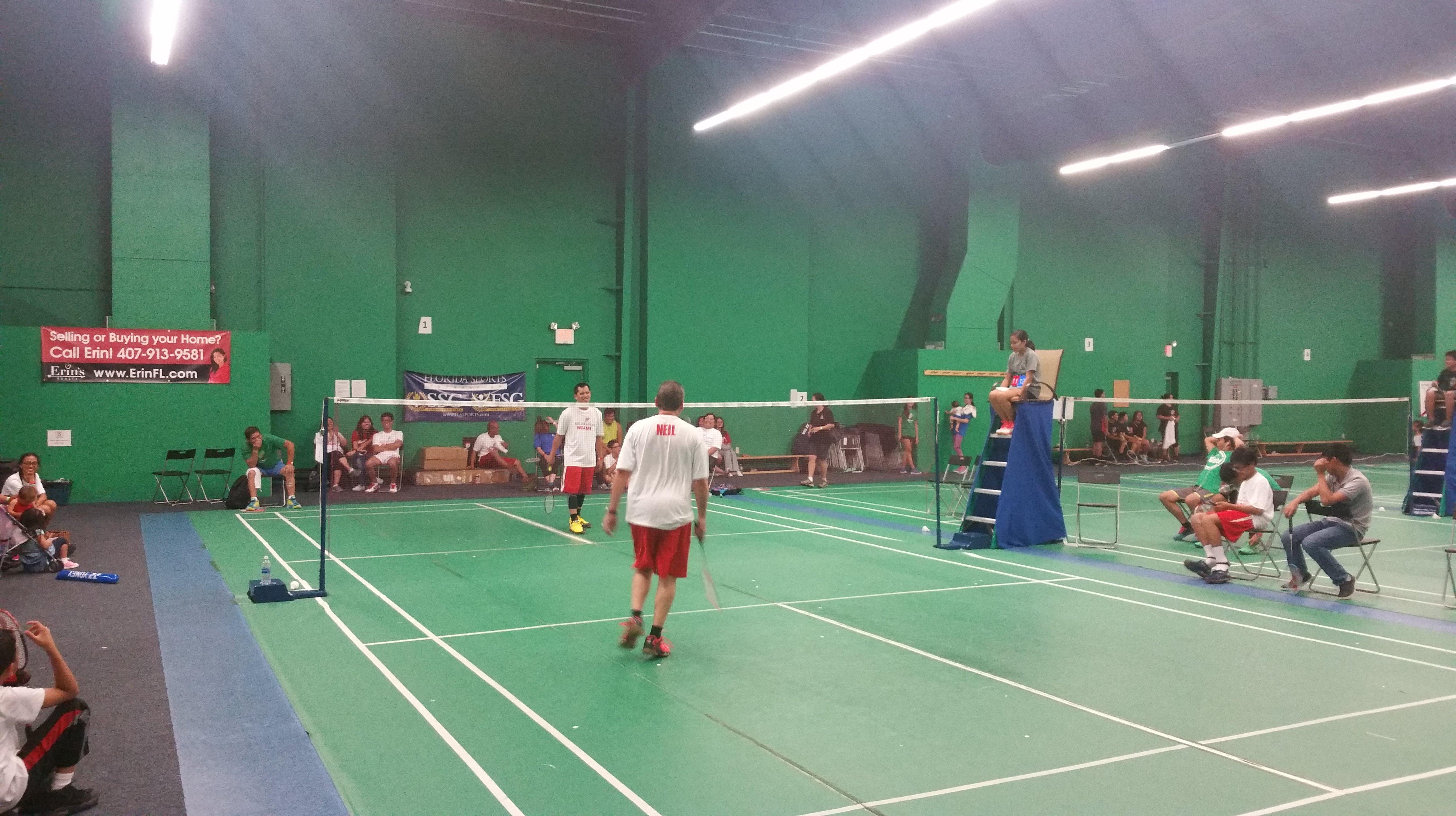 Badminton Orlando Florida