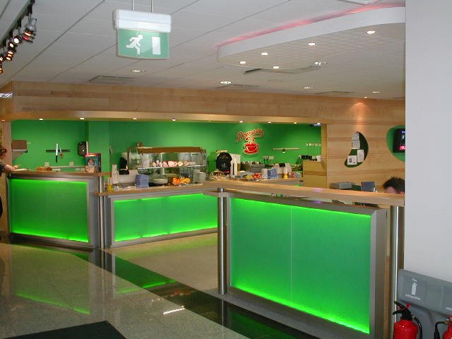 Building service - Aberdeen, Aberdeenshire - Burns Construction (Aberdeen) Ltd - Bar Counter
