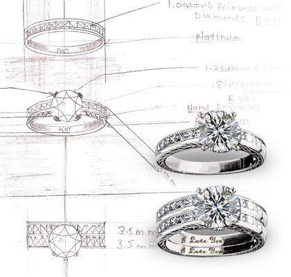 Custom Engagement Rings Woodbury, NY