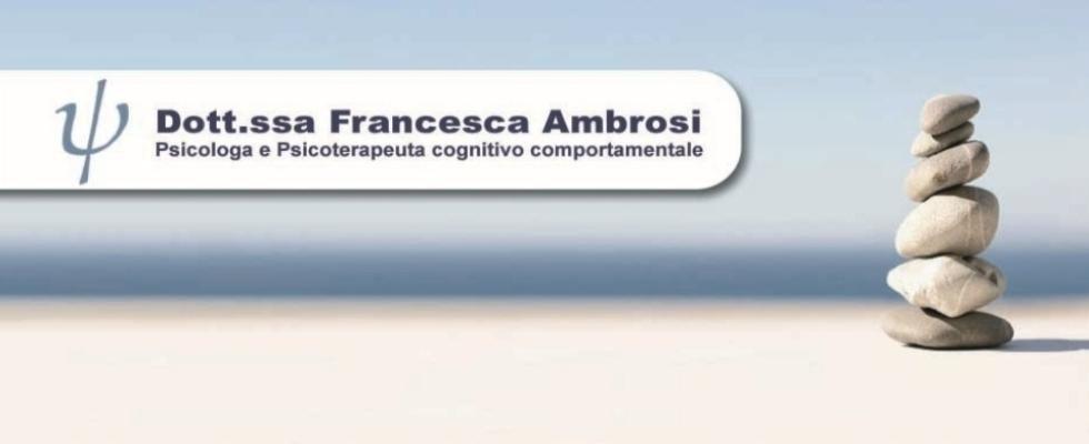 Dottoressa Francesca Ambrosi Psicologa e Psicoterapeuta
