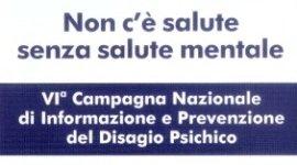 Campagna Nazionale di informazione e prevenzione del Disagio Psichico