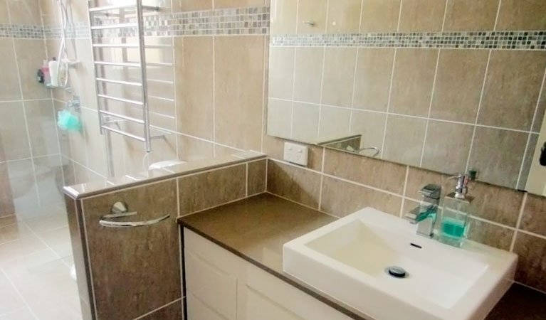 renovated ensuite