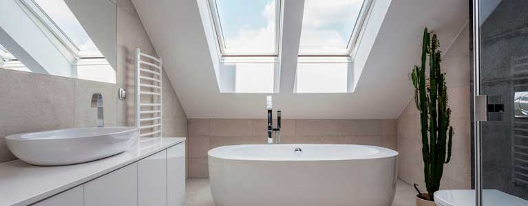 One of our bathroom renovations in Newcastle