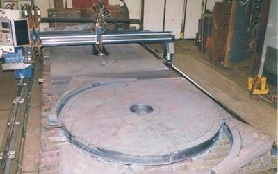 Flange in ferro