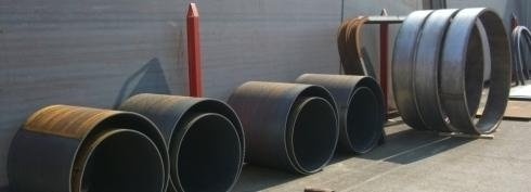 Calandratura tubi ferro