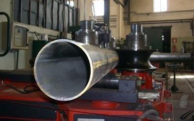 Particolare curvatura tubo